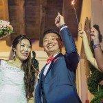 Salle de mariage asiatique